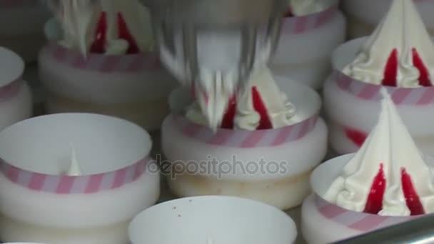 Ice cream výrobní linka