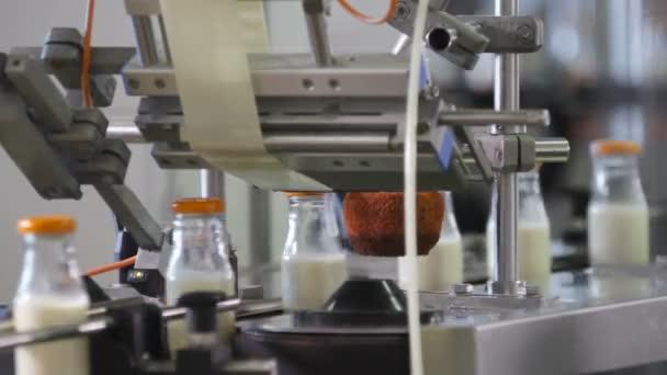Balení láhve linie v odvětví mléka