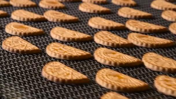 Cookie sült a kemencében. Közeli kép:.