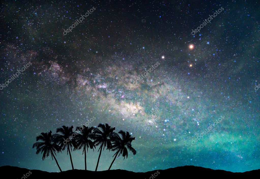 Imágenes Paisajes Nocturnos Con Estrellas Paisaje Con Manera
