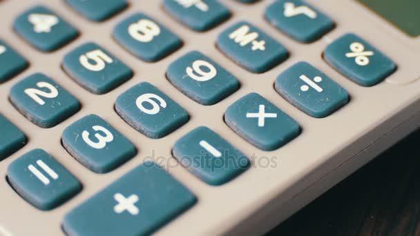 Old vintage calculator