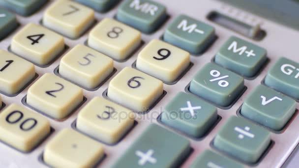 Old Calculator close up