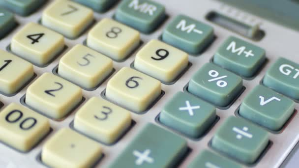 Old Calculator close up