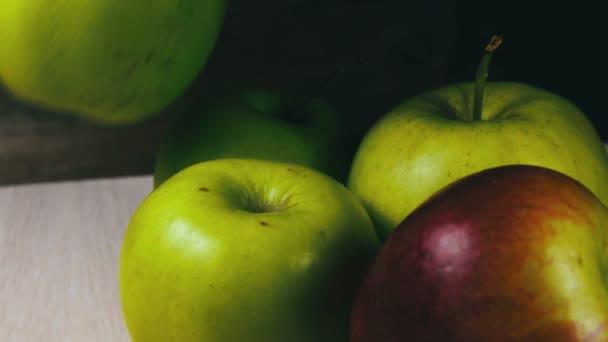 Pečená šťavnatá Zelená jablka