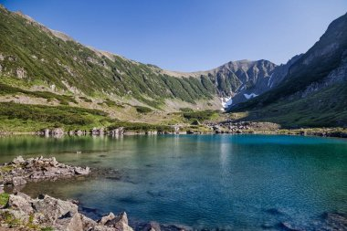 Nature of Kamchatka. Landscapes and magnificent views of the Kam