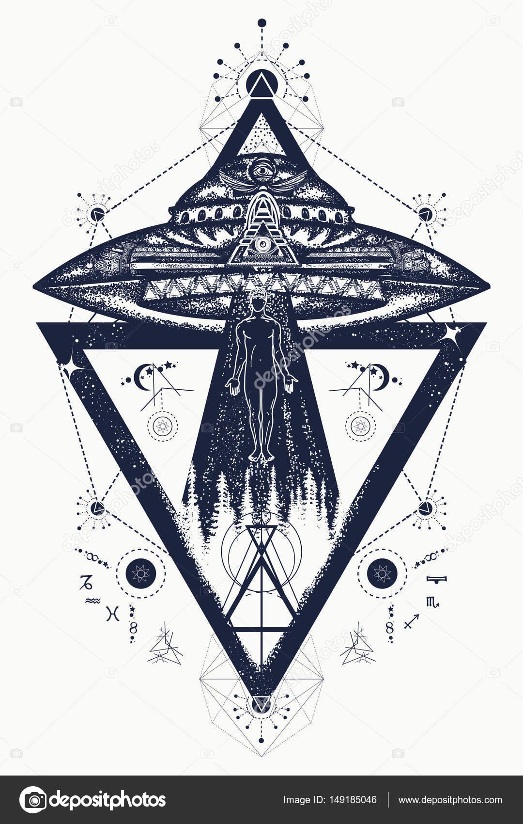 Imágenes Ovni Tattoo Ovni Extraterrestres Persona Secuestrada