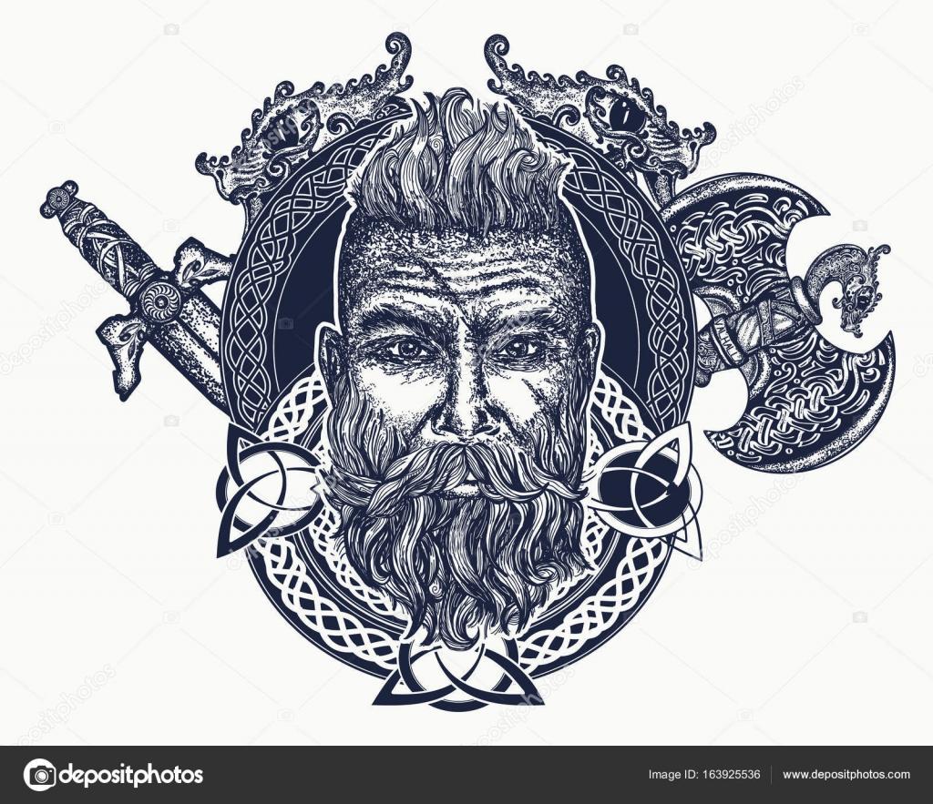 Viking Tattoo Symbols Viking Tattoo Symbol Of Force