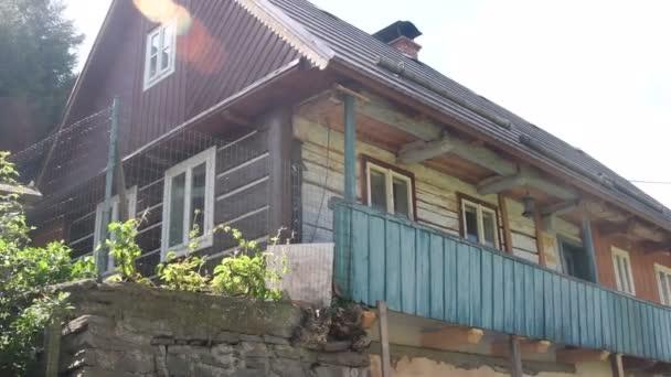 Vidéki ház a Cseh faluban. Régi parasztház.
