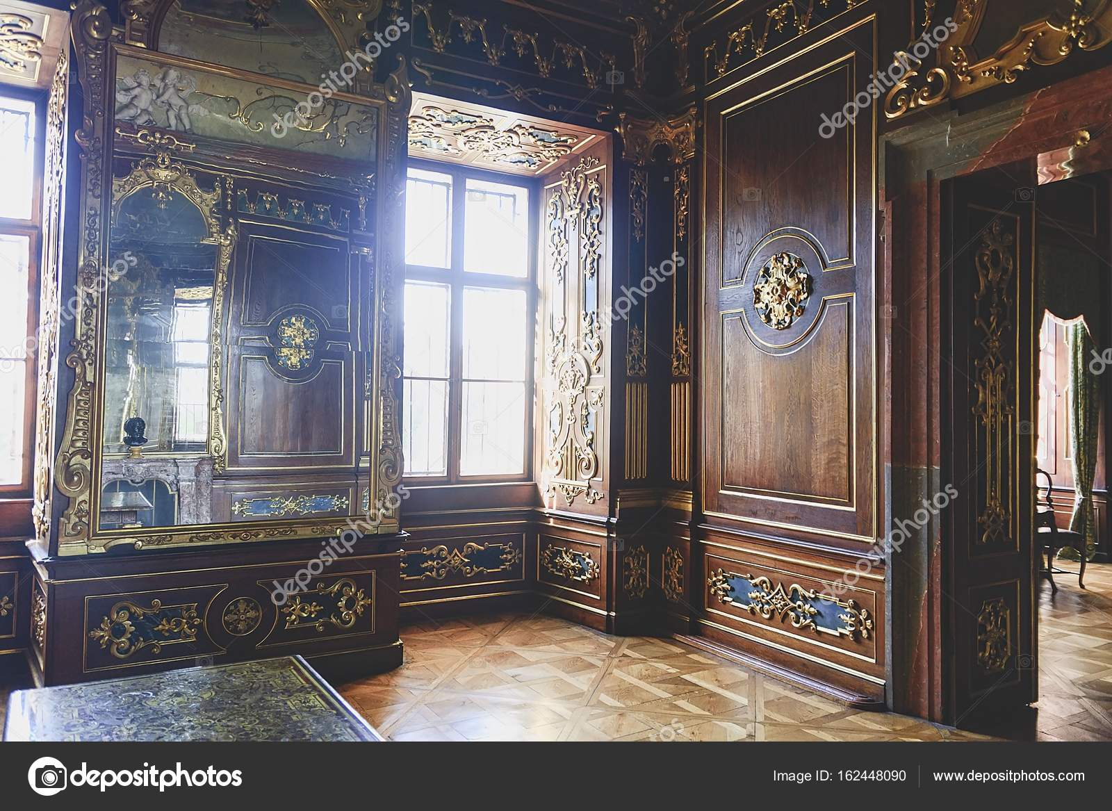 Valtice Castle In Czech Republic National Cultural Monument Originally A Gothic And Former