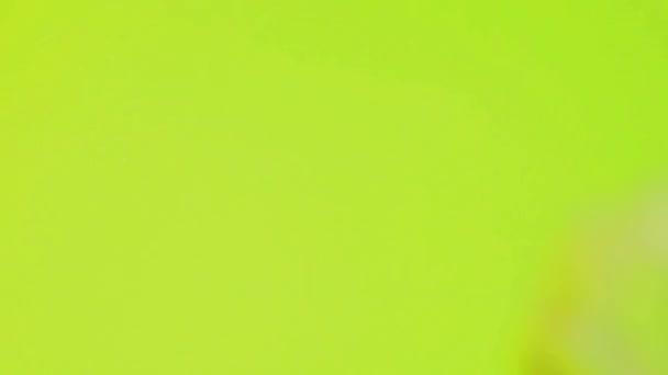 Folyékony alapja: világos zöld buborékok. Absztrakt háttér