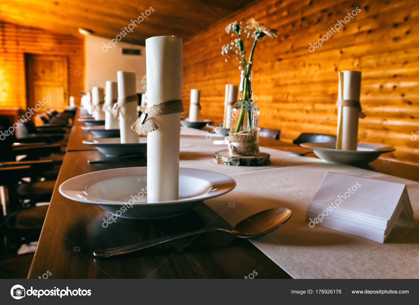 Mesa Comedor Con Decoración Boda Sobre Mesa Algunas Decoraciones ...