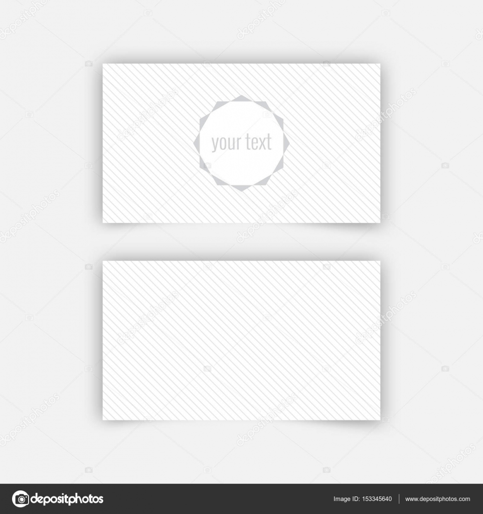 Business card blank template stock vector baretsky 153345640 business card blank template with textured background from thin diagonal lines and polygonal banner minimal elegant vector design vector by baretsky accmission Gallery