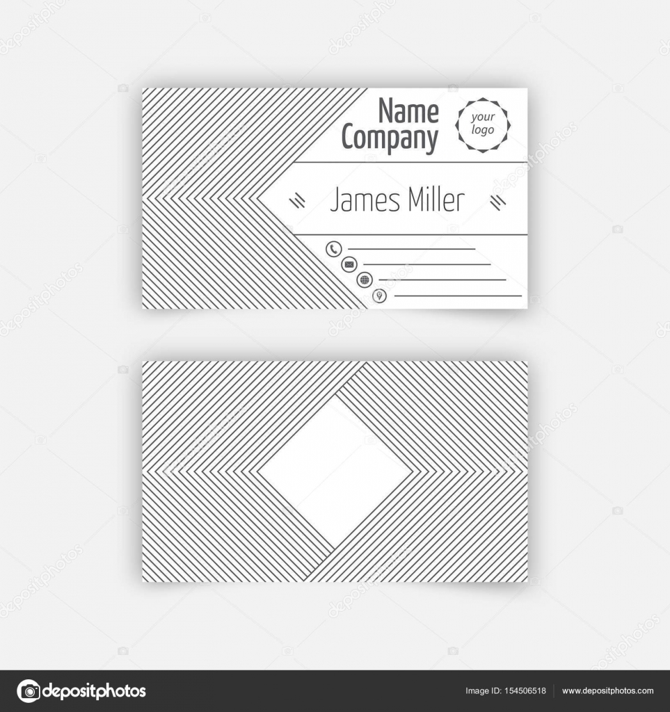 Beautiful business card blank photos business card ideas etadamfo business card blank template stock vector baretsky 154506518 reheart Images