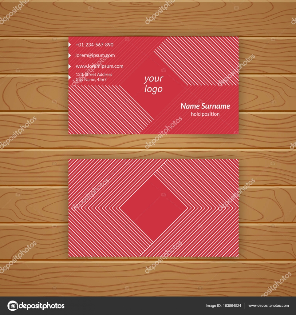 Business card blank template stock vector baretsky 163864524 business card blank template with textured background from thin lines minimal elegant vector design vector by baretsky fbccfo Choice Image