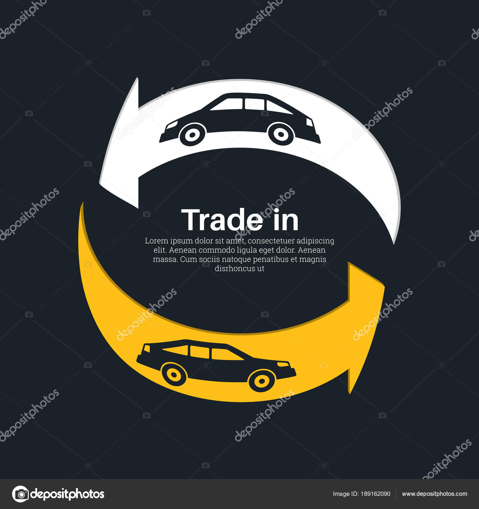 Two cars with the index — Stock Vector © baretsky #189162090