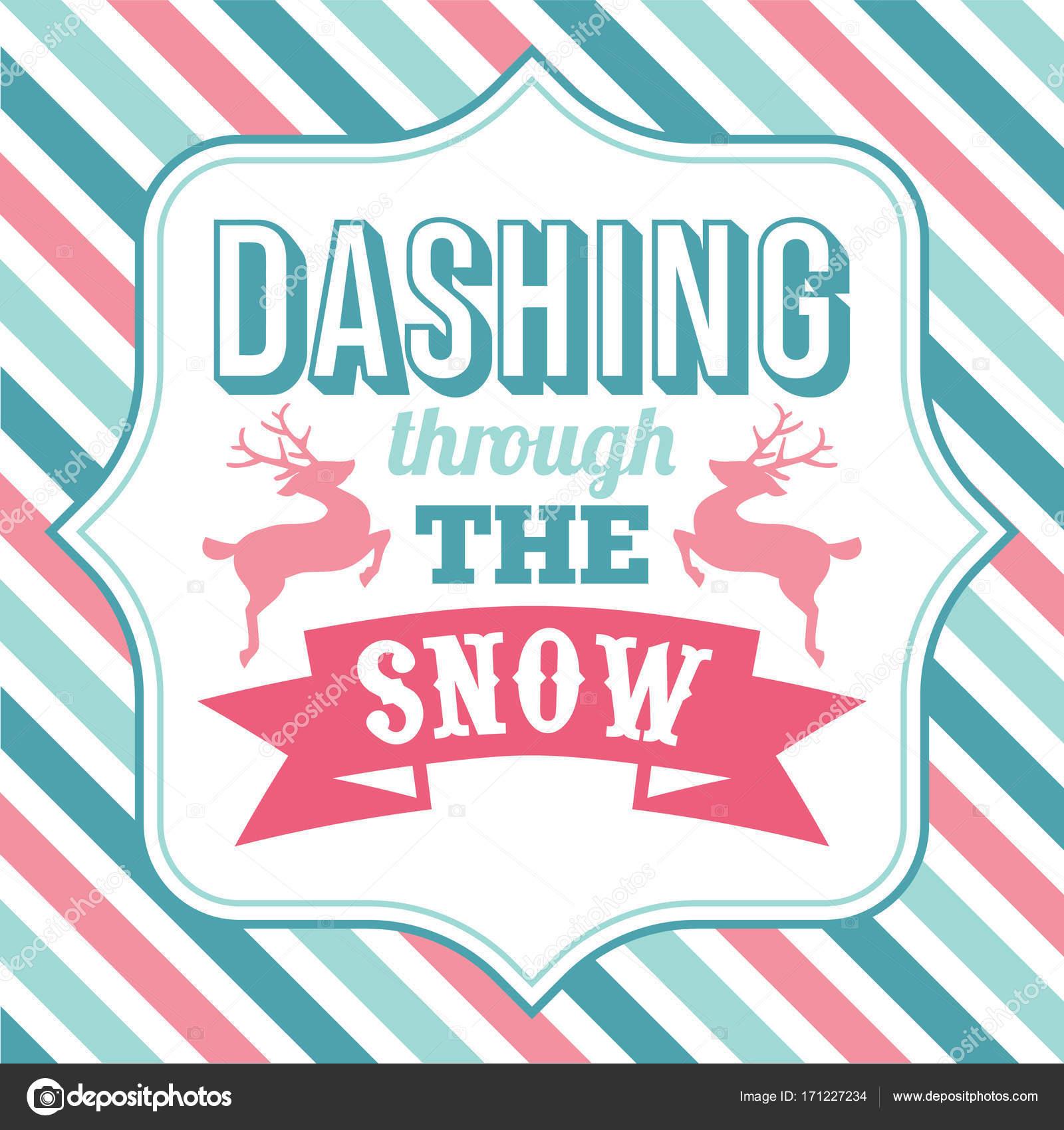 Schneidigen durch den Schnee Weihnachten Sprüche Wort Kunst ...