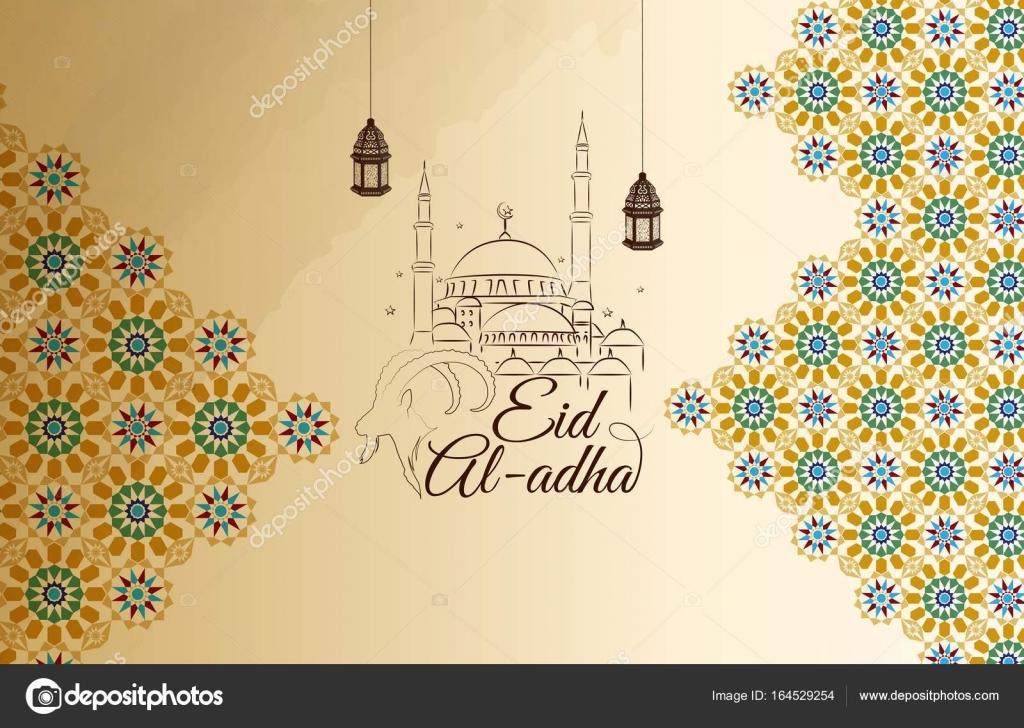 Eid al adha greeting card stock vector artnovi 164529254 eid al adha greeting card stock vector m4hsunfo