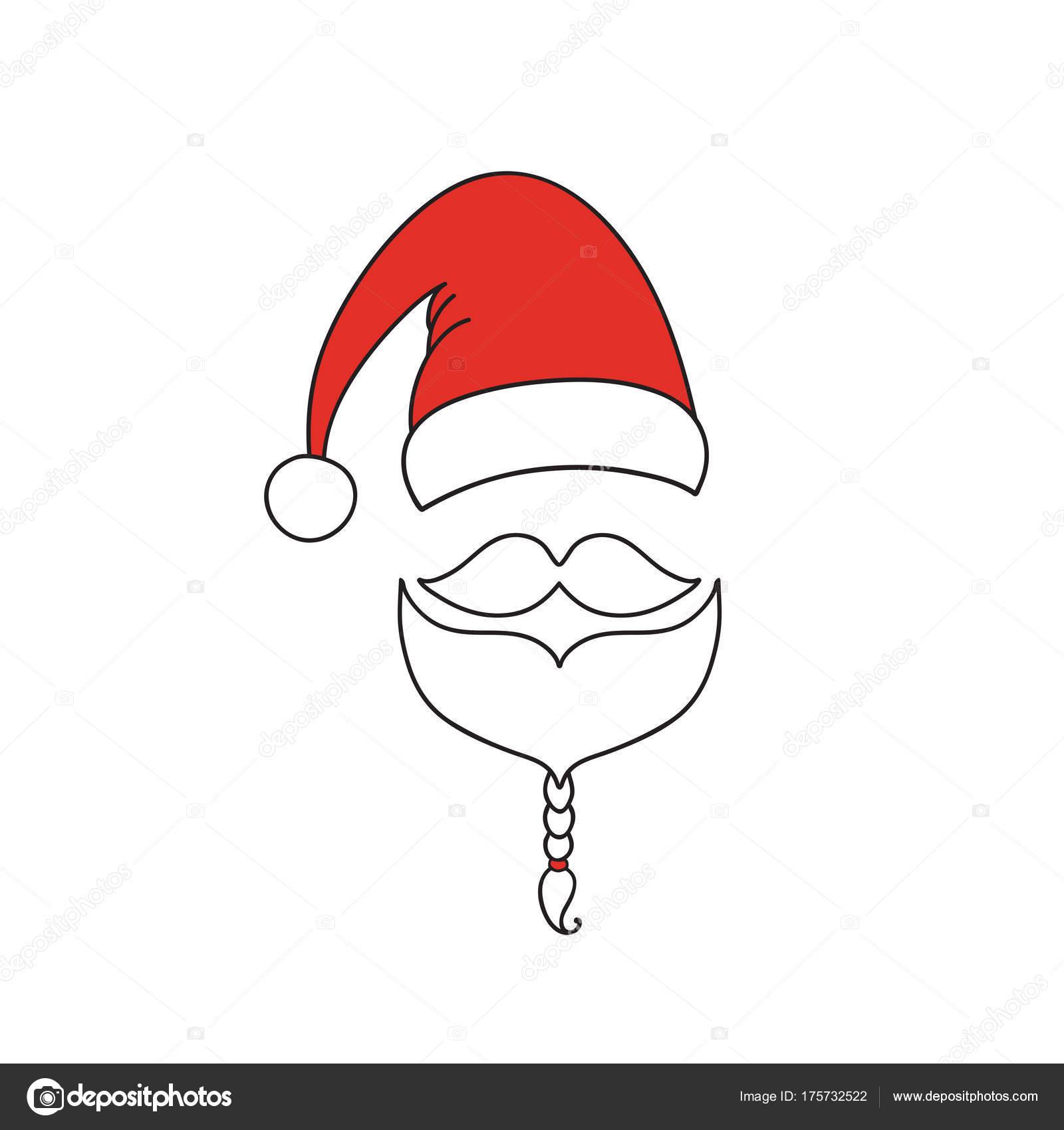 Cappello Babbo Natale Disegno Campobassopellicce