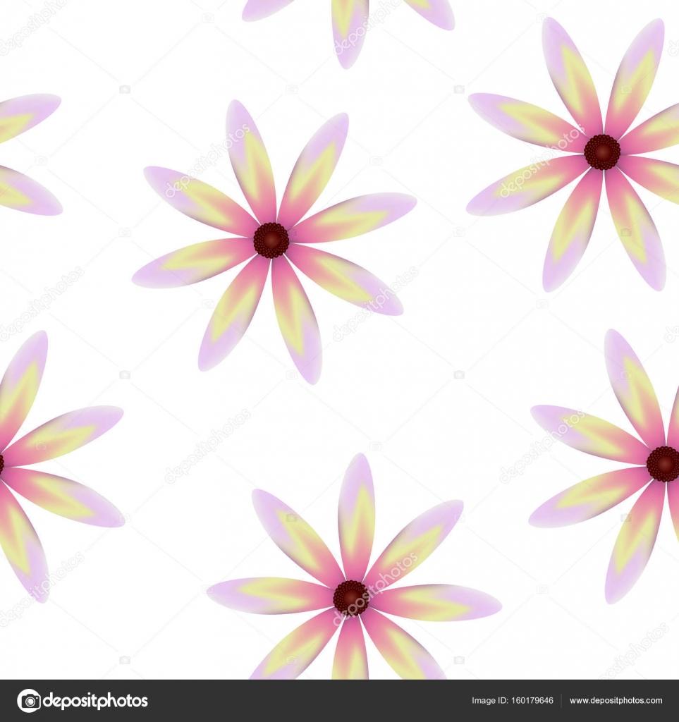 Fleurs de roses jaunes violets, transparente motif floral