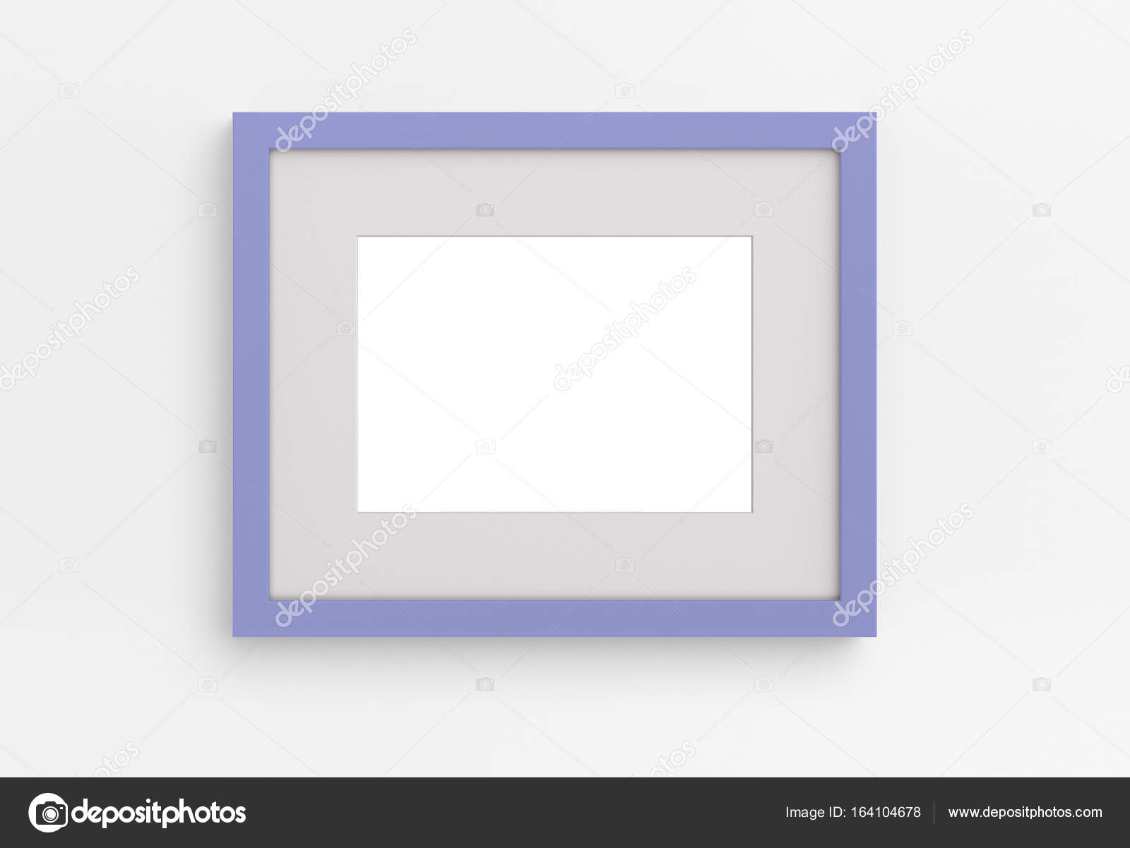 Lavendel Bilderrahmen an der Wand — Stockfoto © lenaartsymovych ...