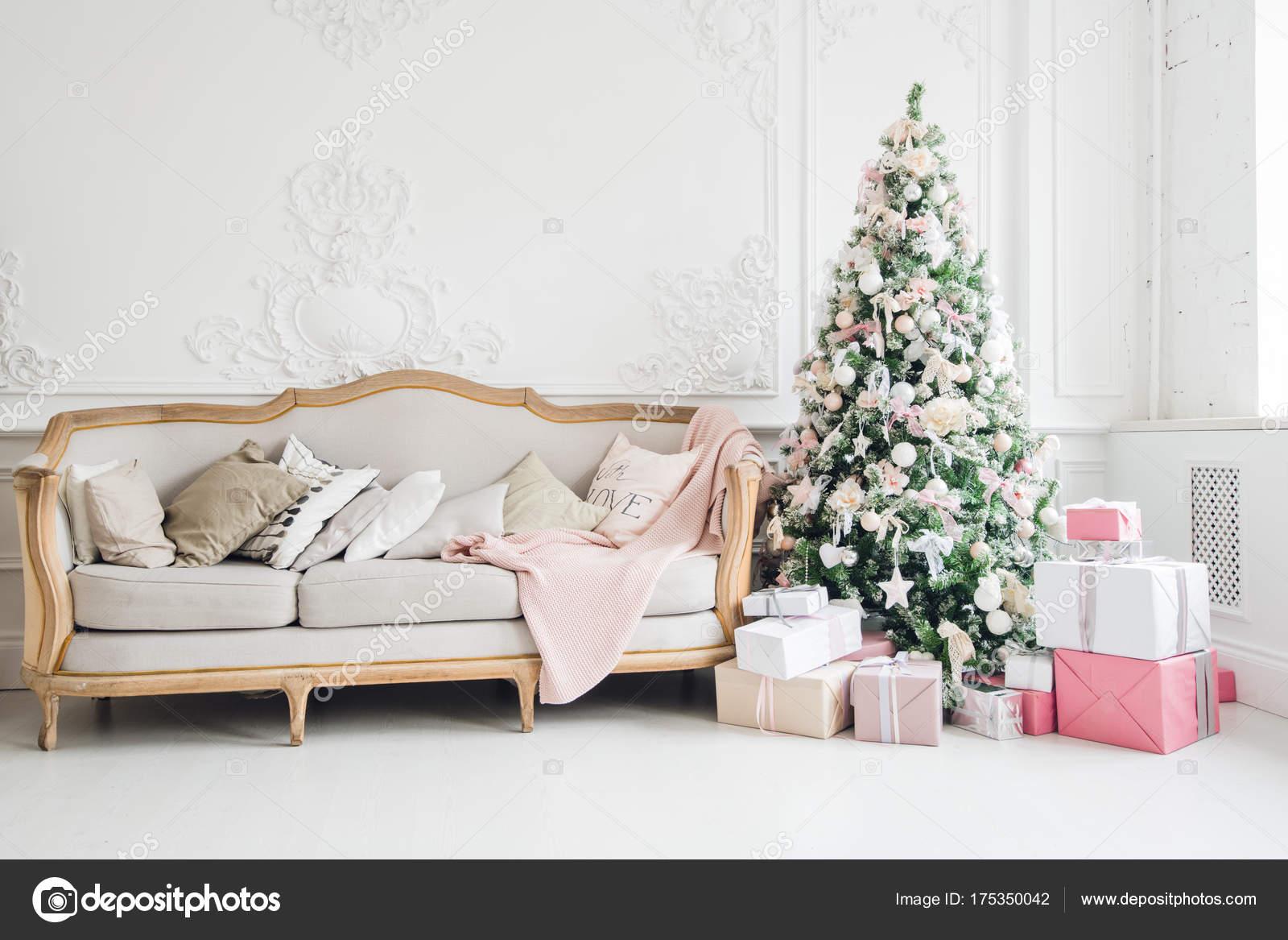 Nieuwe jaar vakantie of feest de sfeer stijlvolle kerst