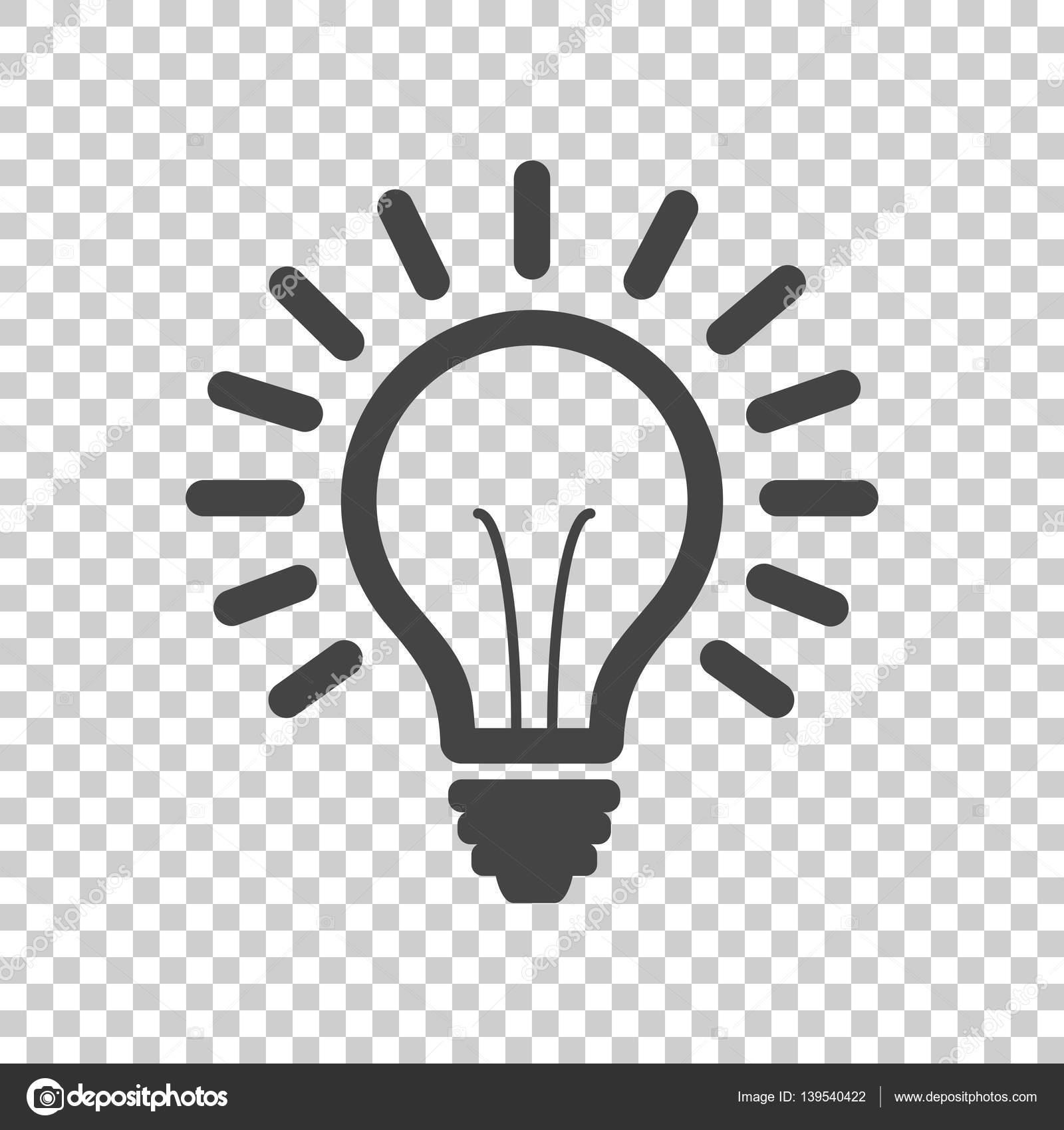 Glühbirne Linie Symbol Vektor, auf isolierte Hintergrund isoliert ...