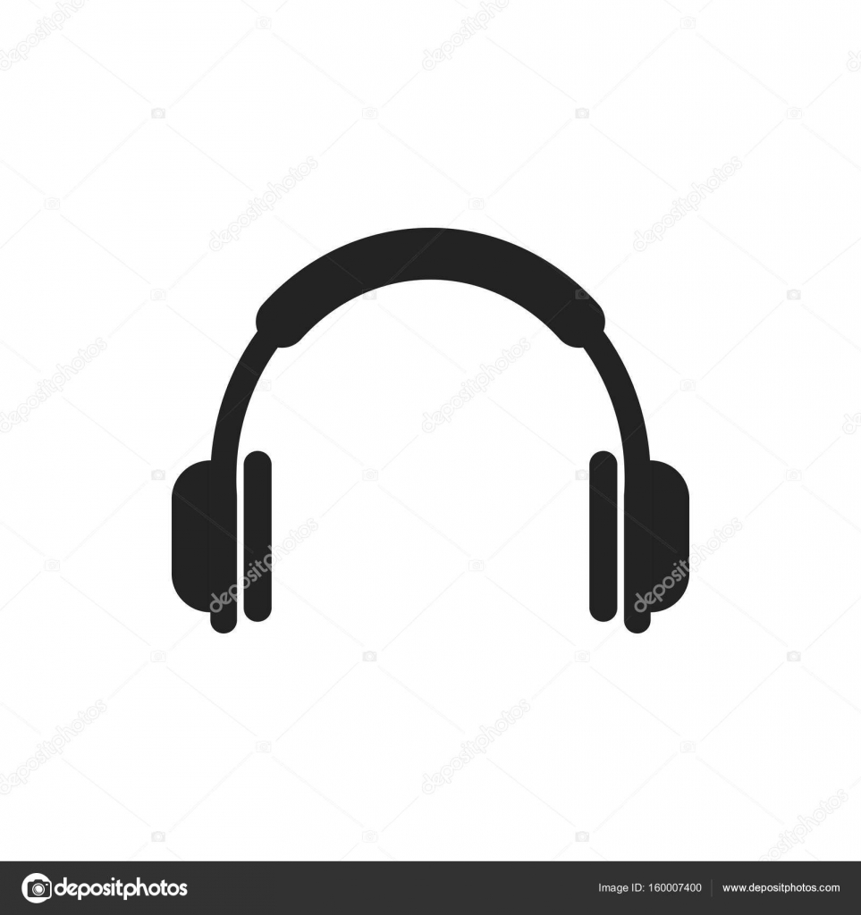 headphone vector icon earphone headset sign illustration stock rh depositphotos com headphone vector art headphone vector art