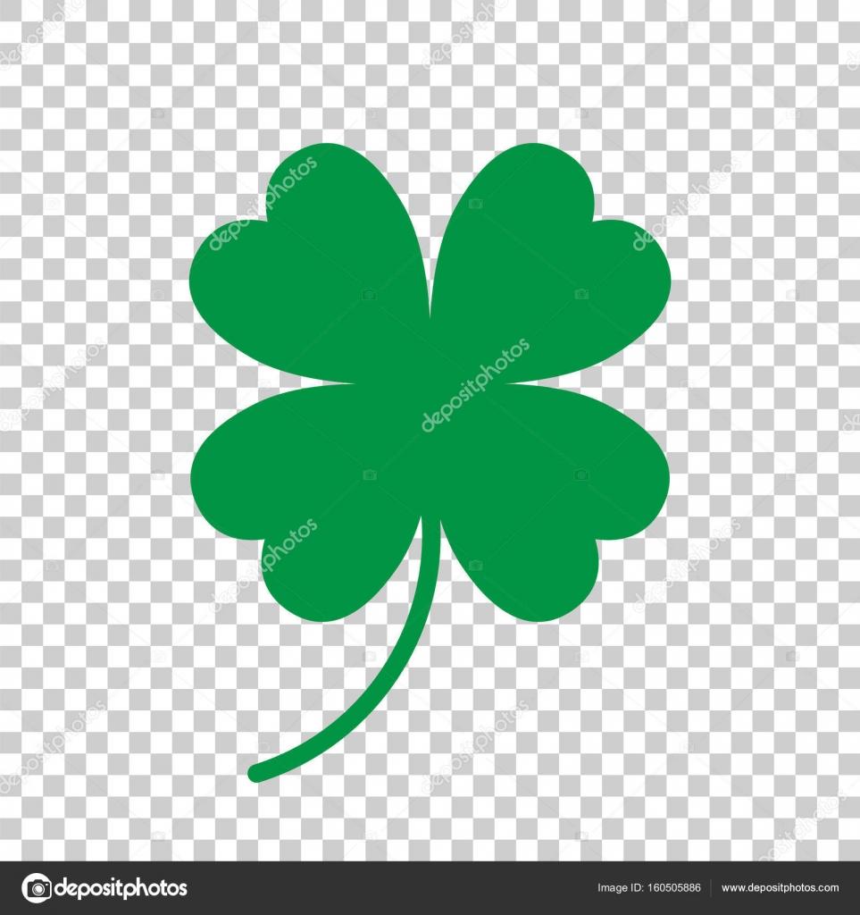 four leaf clover vector icon clover silhouette simple icon illu rh depositphotos com 4 leaf clover vector free download four leaf clover vector file