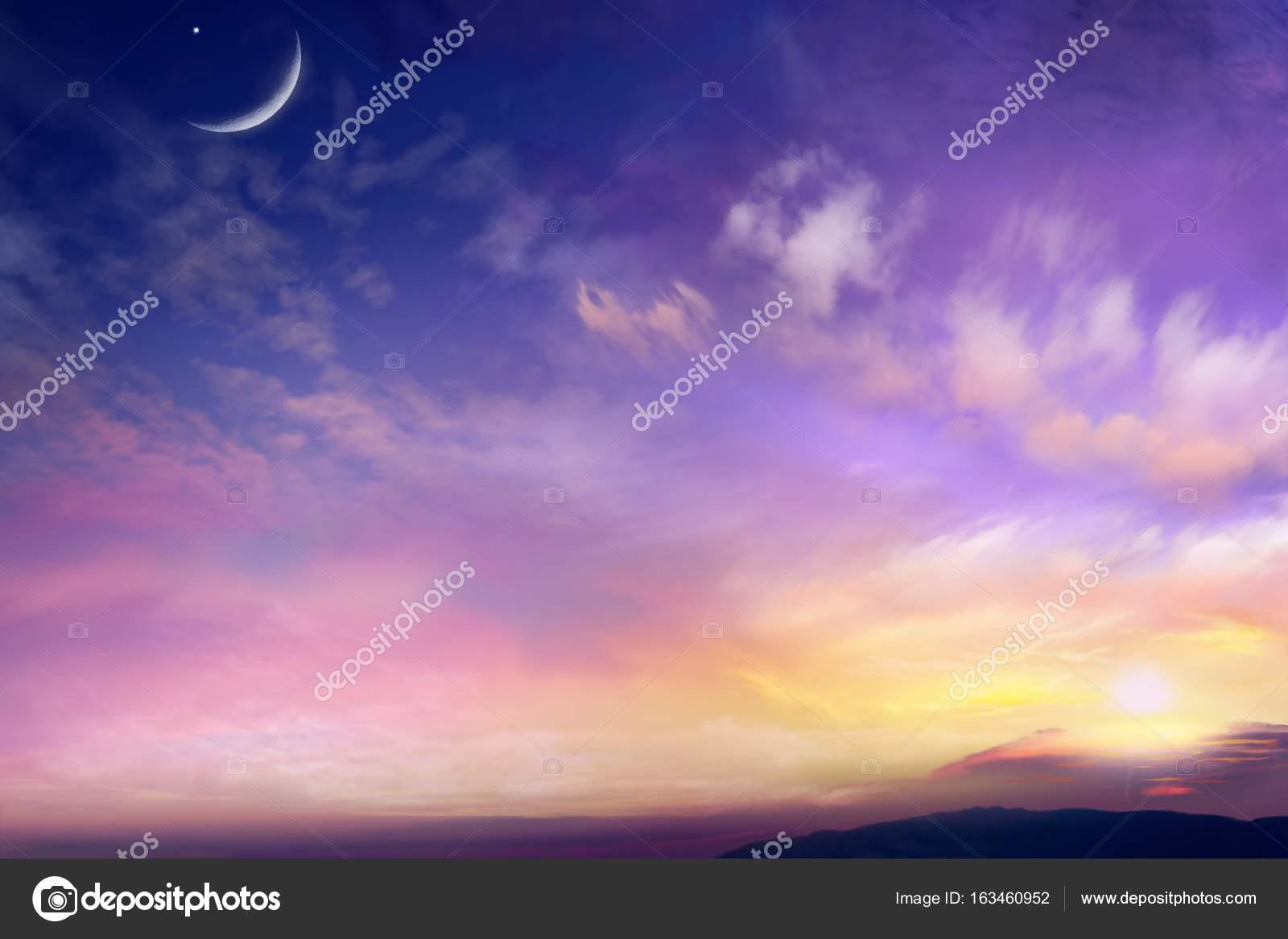 Beautiful Scenery Dramatic Nature Background Stock Photo