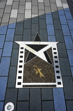 Bruce Lee star on the Avenue of Stars Promenade in Kowloon