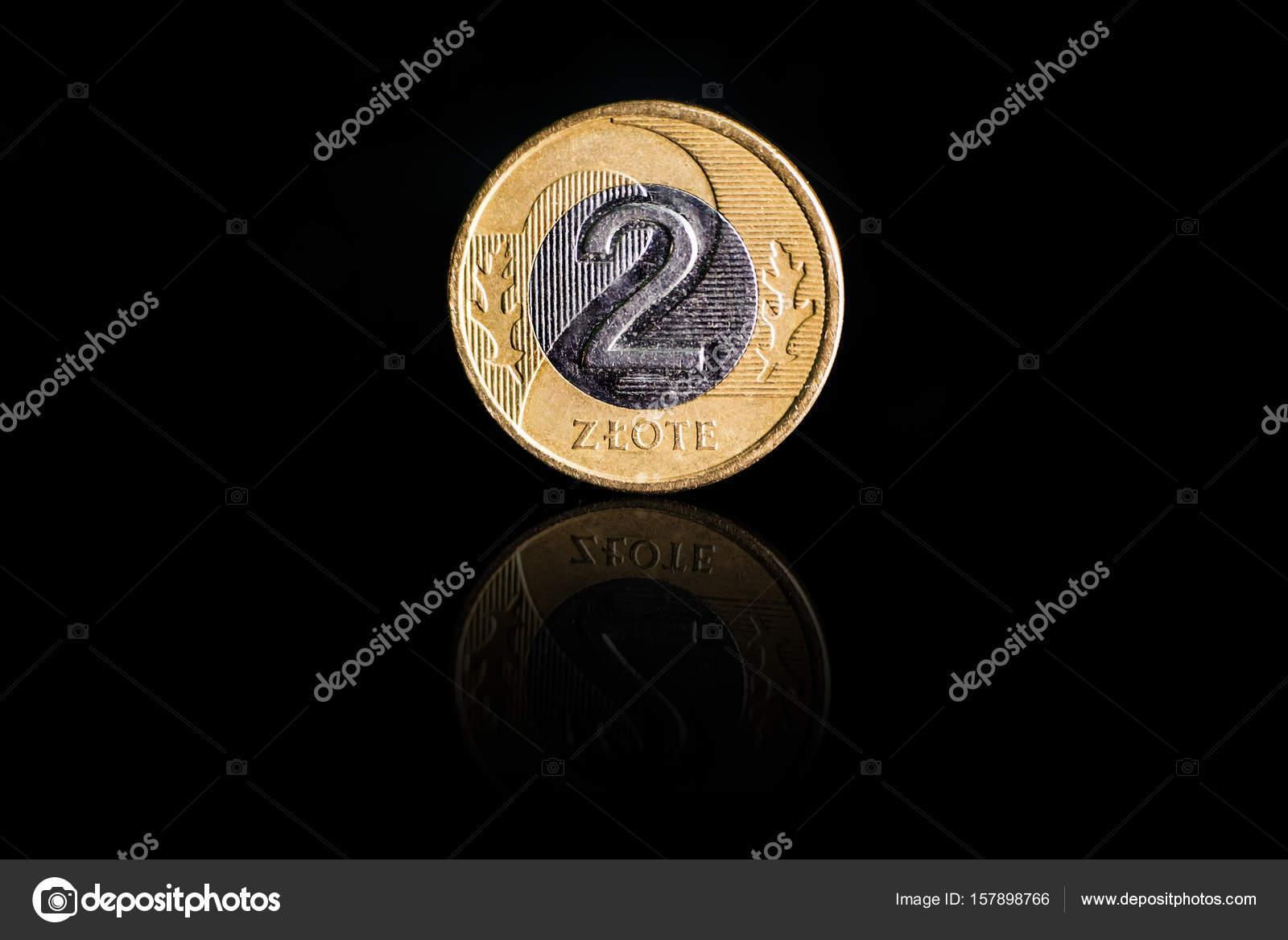 Münze Polen 2 Zloty Stockfoto Diy13 At Yaru 157898766
