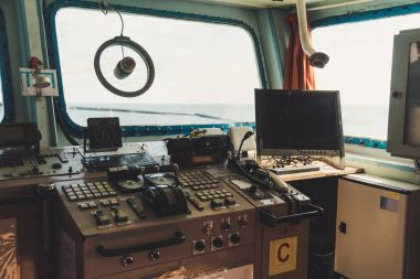Captain's Cabin View From The Inside, Point Of View Shot