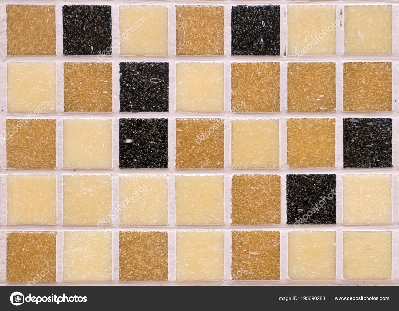 Mattonelle di mosaico arancione reticolo senza giunte per la