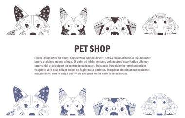Booklet for pet shop
