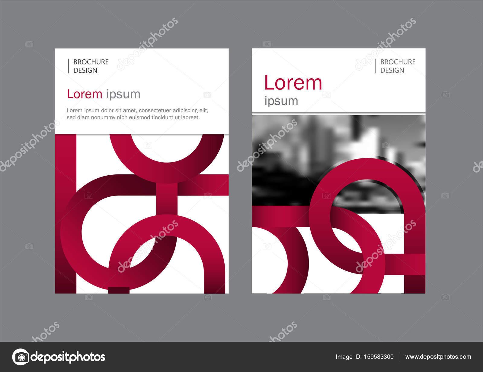 Folleto corporativo, portada de documento, presentación, folleto ...