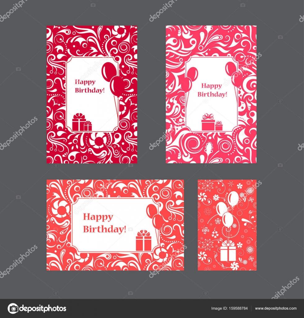 Zusammenstellung von alles Gute zum Geburtstagskarten mit ...