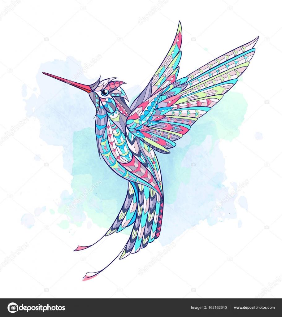 Mintás repülő kolibri — Stock Vektor © maverick inanta  162162640 166f430a5f