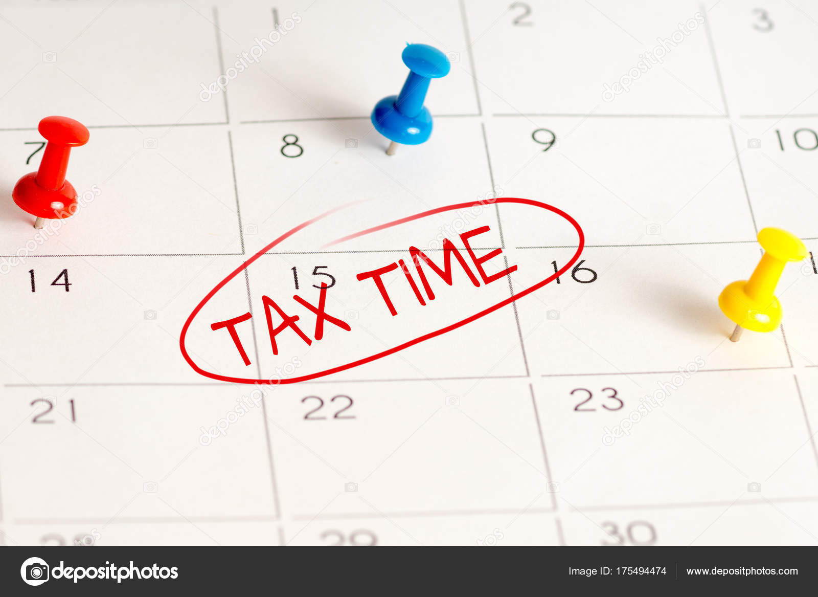 Imposta Calendario.Tempo Di Imposta Calendario Spille Foto Stock