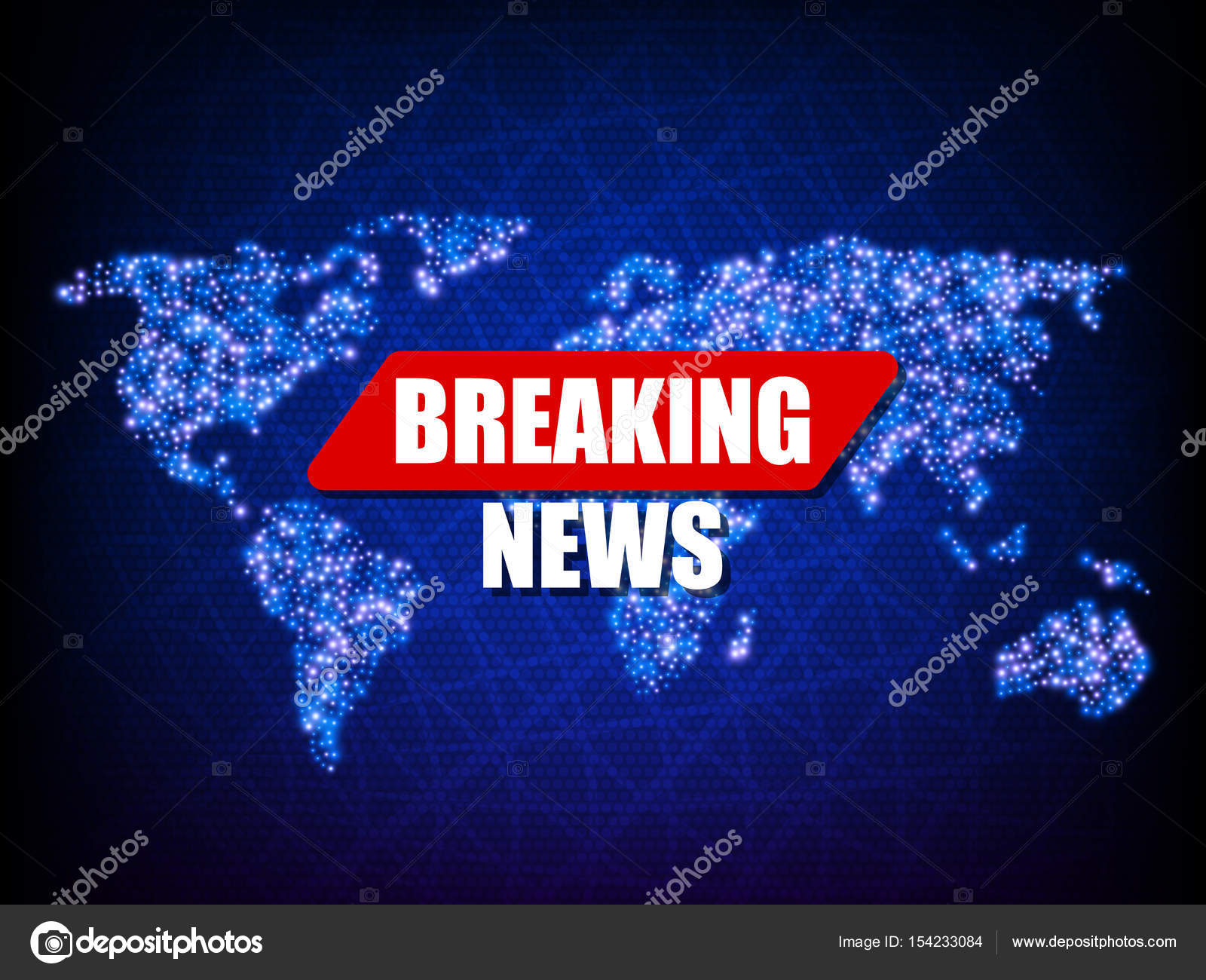 Breaking news background world map vector illustration stock breaking news background world map vector illustration eps10 vector by mrnder gumiabroncs Image collections