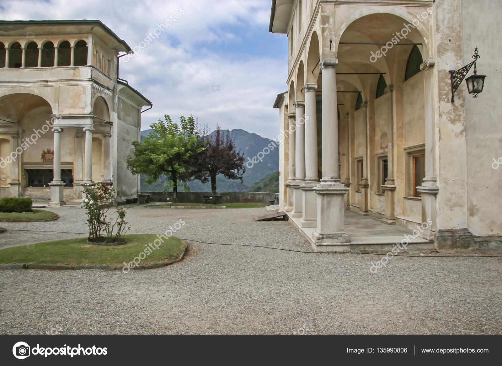 Sacro Monte die Varallo — Stockfoto © Tinieder #135990806