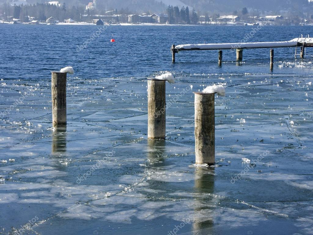 Winter at  Tegernsee