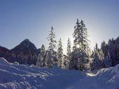 Leonhardistein télen