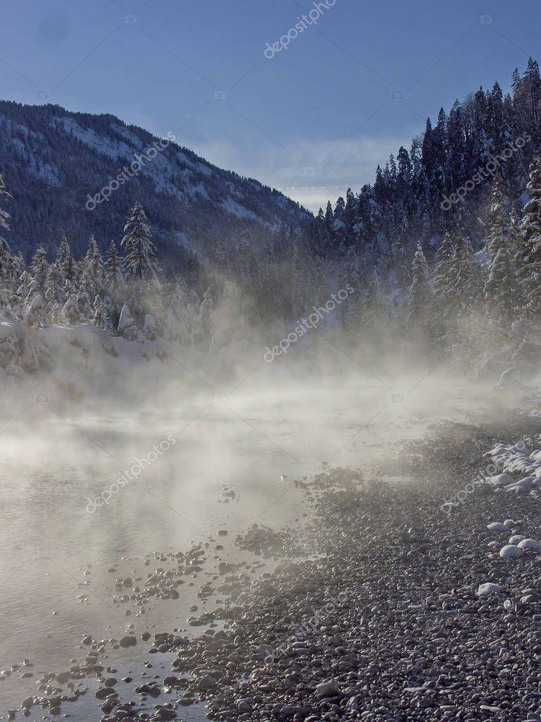 morning fog in Karwendel