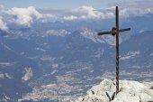 Csúcs Gardasee hegyekben