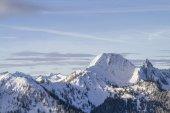 Fotografie Plankenstein und Risserkogel im winter