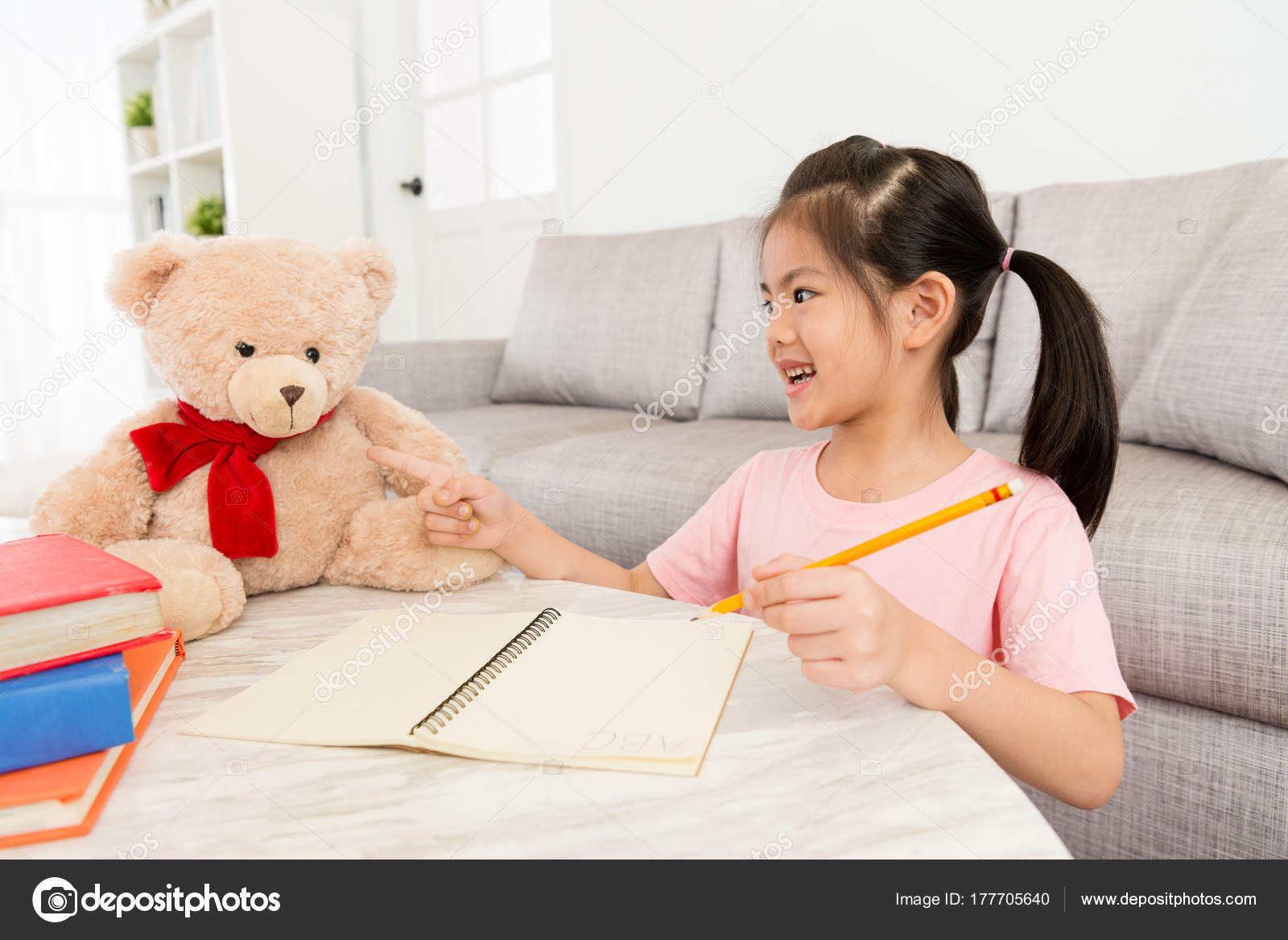 Фото девушек домашнее дети 62