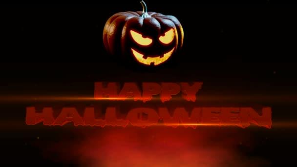 Veselý Halloween Spooky Jack O lucernou