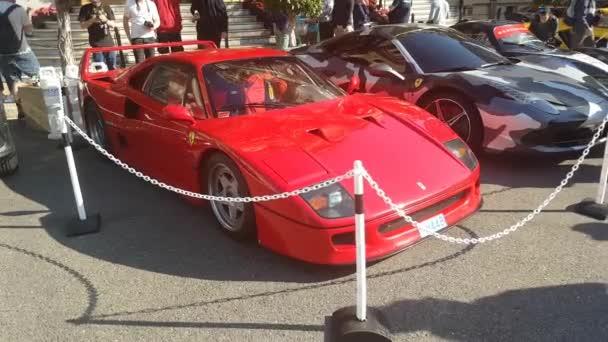 Červené Ferrari F40