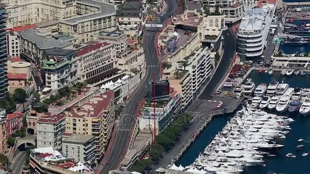 Aerial View of the Monaco Grand Prix