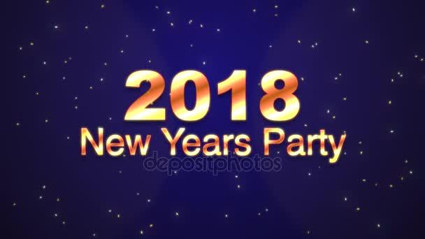 2018 Novoroční večírek